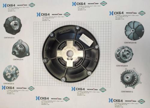 Муфта 014K-00100-SB06-00216234 (CF-K-100-SAE6.5) z=15-15 шт