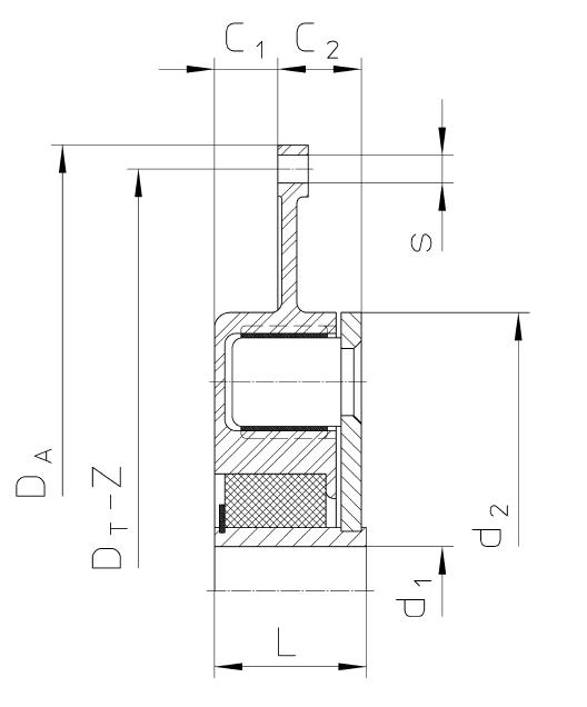 CF–DS CENTAFLEX–DS схема