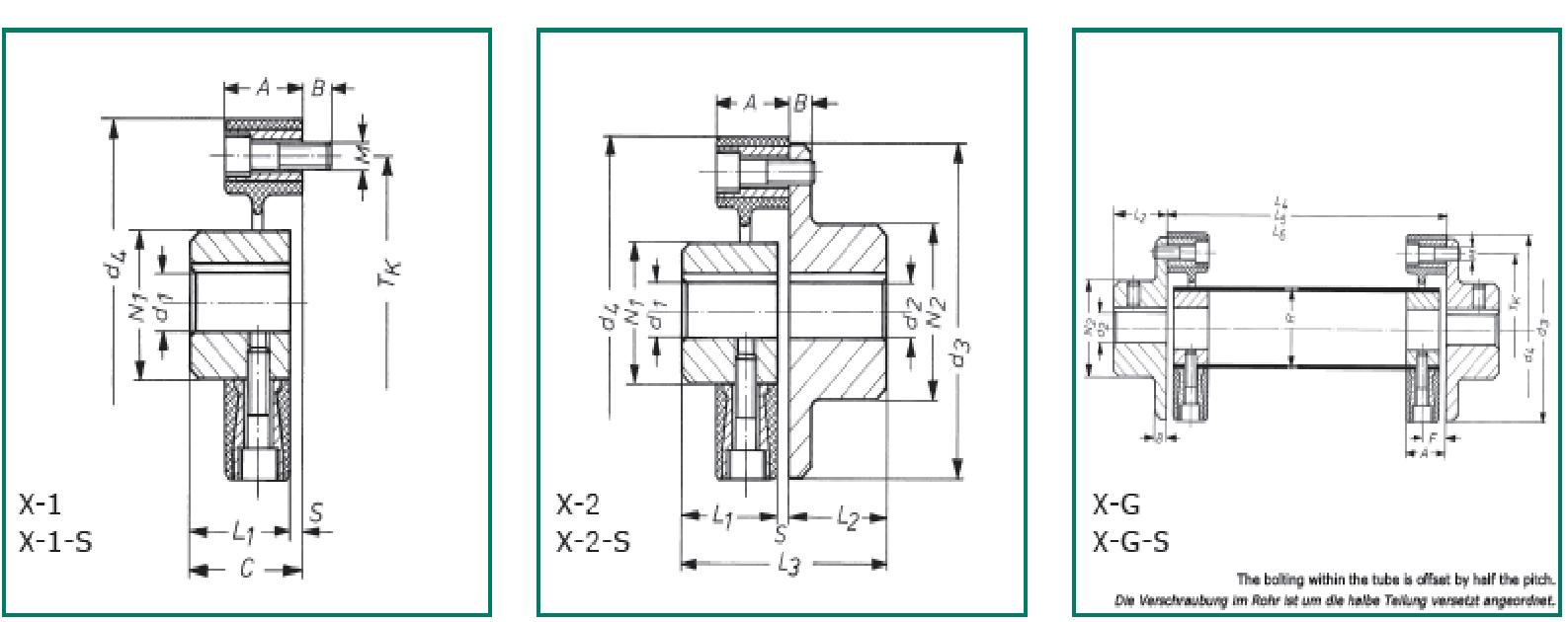 CF–X CENTAFLEX–X схема