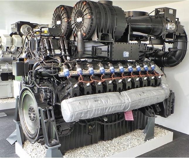 Газопрошневая электростанция мощностью 1 Мвт
